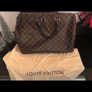 Handbags - Authentic Louis Vuitton Damier Speedy 35